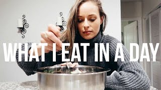 What I Eat In A Day (full day of eating) | RENEE AMBERG