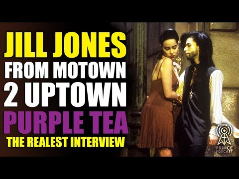 Jill Jones Talks Prince with some Purple Tea