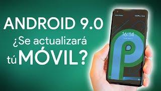 ¿ACTUALIZARÁ mi MÓVIL a Android 9.0 PIE?