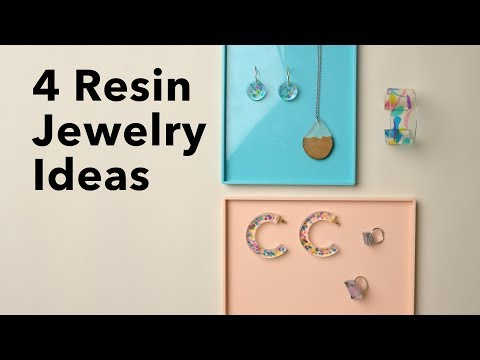 Resin Jewelry for Beginners | DIY Bracelets, Pendants, Earrings & Rings