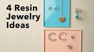 Resin Jewelry for Beginners   DIY Bracelets, Pendants, Earrings & Rings
