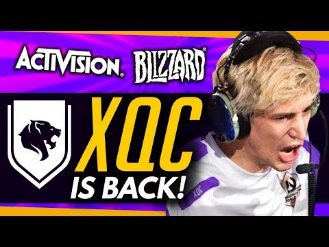 Overwatch | XQC IS BACK + 'Lots of New Ideas' Coming To OW! thumbnail