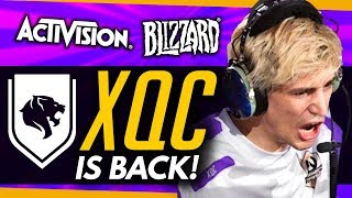 Overwatch | XQC IS BACK + 'Lots of New Ideas' Coming To OW!