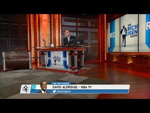 David Aldridge of NBA TV on NBA Draft & Possible Trades - 6/25/15