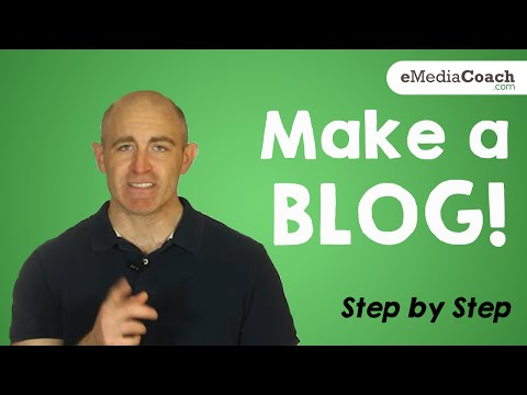 How to Make a Blog - Step by Step - 2015