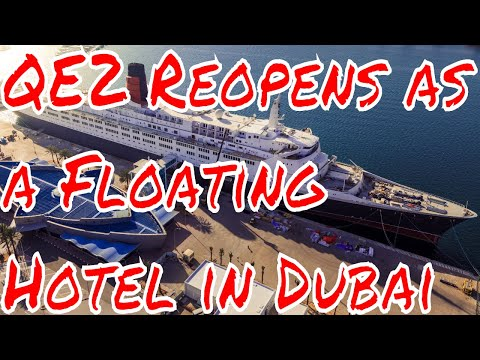 QE2 Reopens to the Public as a Floating Hotel In Dubai UAE R