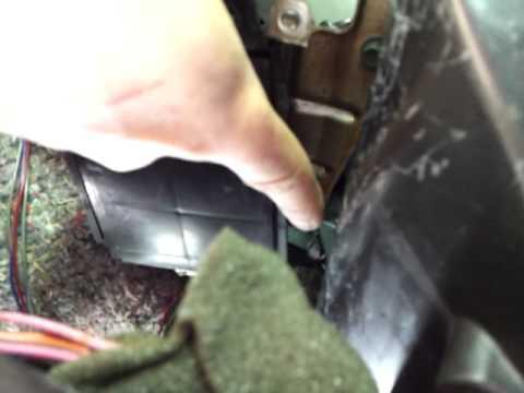 How To Change A Heater Core Pt 1 Of 2 Ex Thirdgen