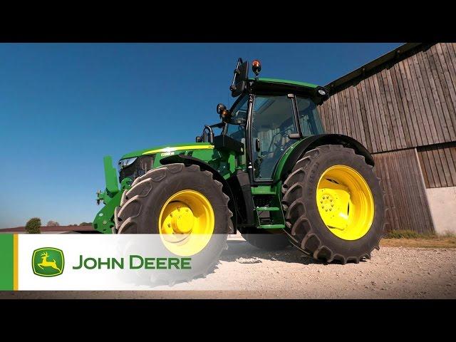 Introduzione della nuova Serie 5R John Deere