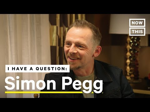 Simon Pegg on Struggling With Alcoholism and Depression | NowThis