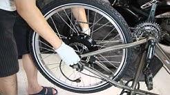 How To Install An Electric Bike Hub Motor Kit - Phoenix II Conversion Kit