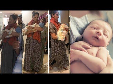 Sania Mirza takes new born baby boy home and Names him Izhaan |