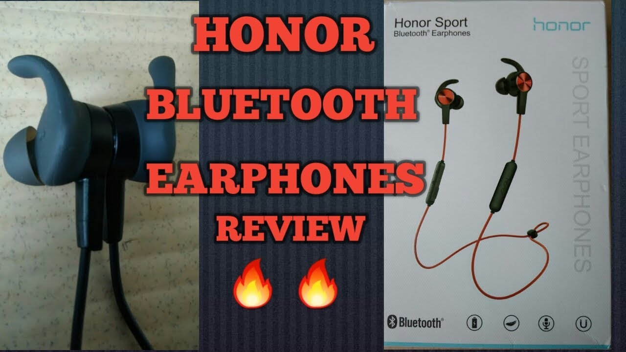 adf11ca5ebe Honor AM61 bluetooth earphones review - YouTube