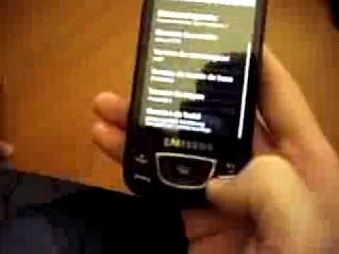 Eclair on Samsung Galaxy i7500 mustymod