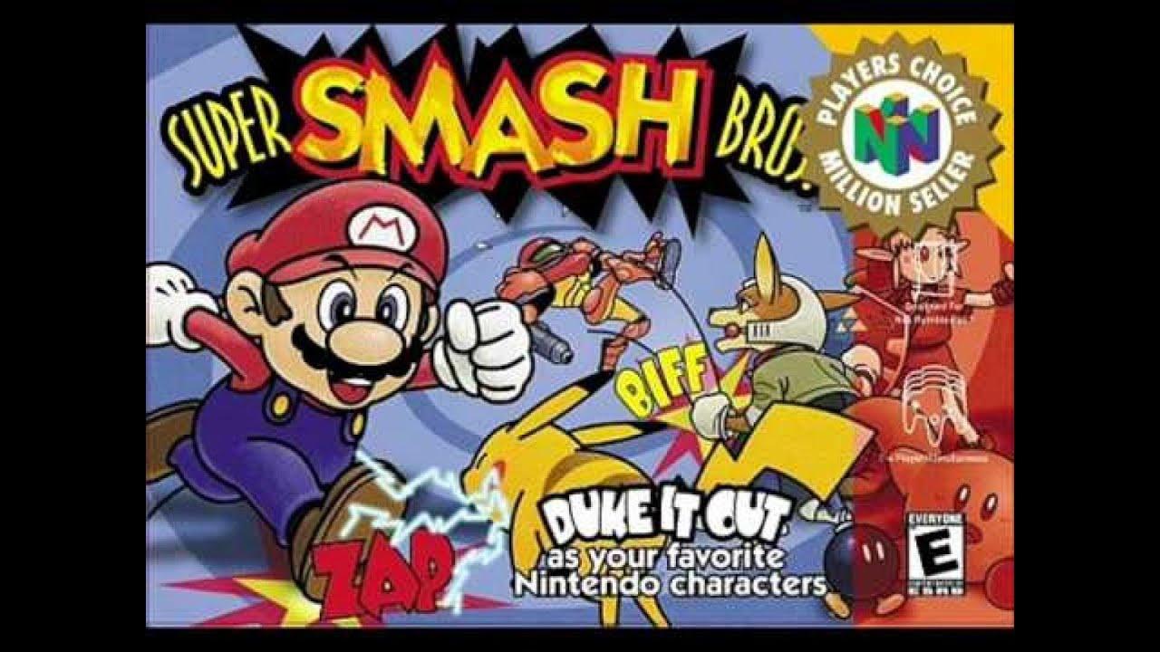 super smash bros n64 game