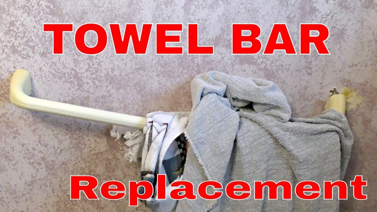 Install a new towel bar for beginners easy youtube install a new towel bar for beginners easy dailygadgetfo Image collections