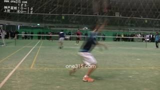 [すごプレ50]高校ソフトテニス近畿インドア2015 上宮高校ー神戸星城高校 第二戦 thumbnail