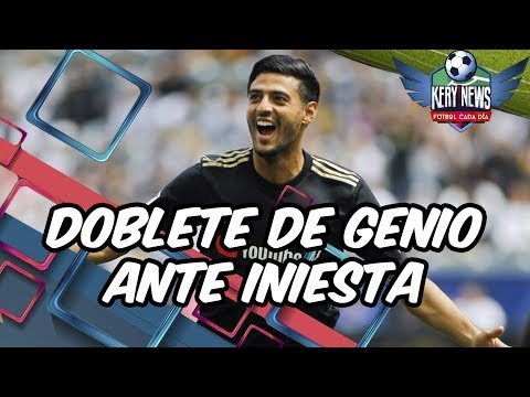 DEBUT CARLOS VELA 2019: DOBLETE DE GENIO VS VISSEL KOBE