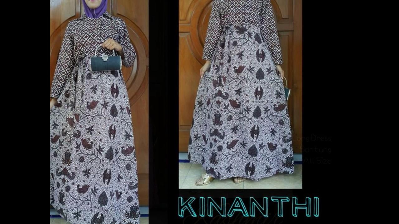 Wa 0812 2533 6662 Gamis Batik Untuk Ibu Ibu Gamis Batik Umbrella