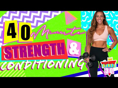 40 Minute Full Body Strength and Conditioning Workout | Sydney's Dirty 30 - Day 15