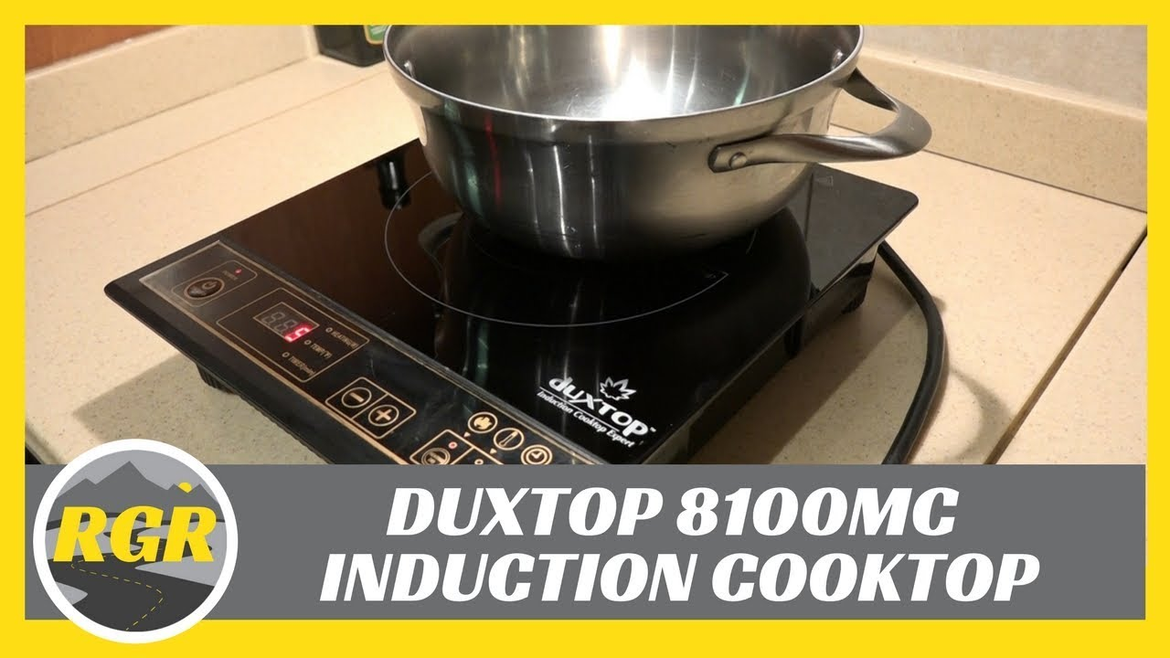 video Duxtop Portable Induction Cooktop Countertop Burner Review