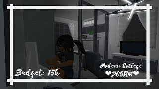 Roblox | 💖 Modern College Dorm💖 Speed Build (15k) | Bloxburg