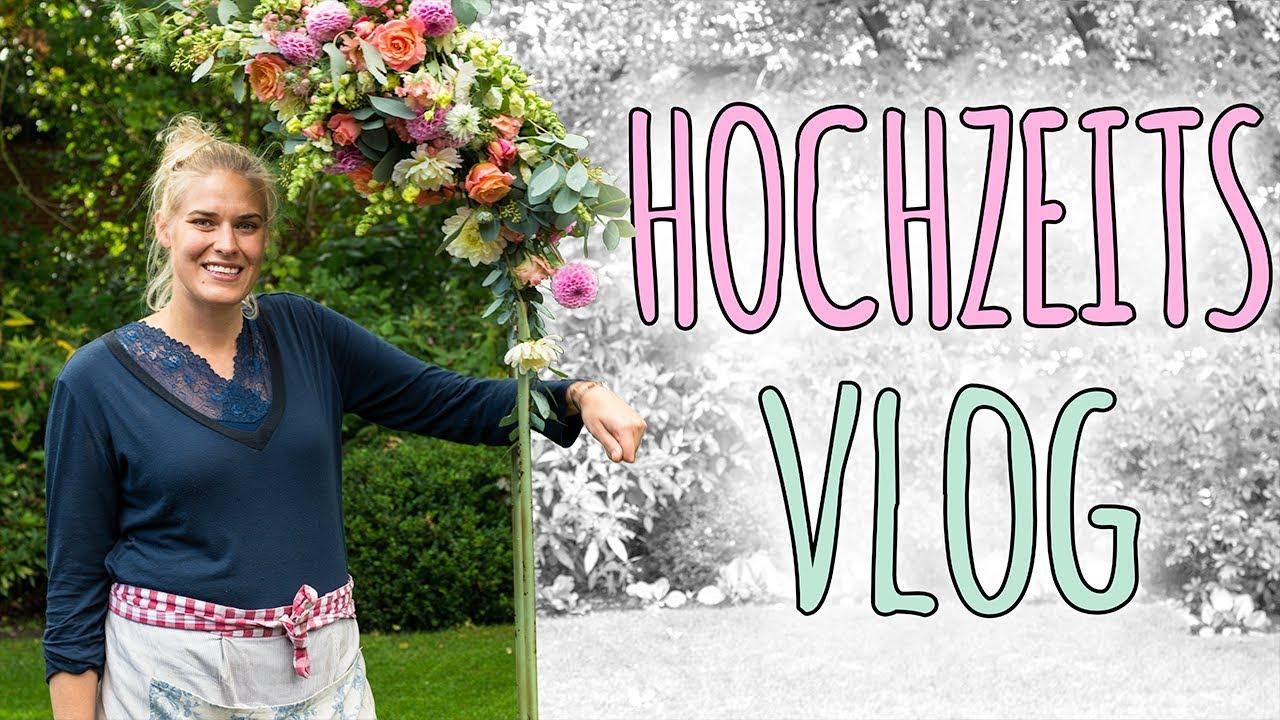 Hochzeits Vlog Tischdeko Und Kirchenschmuck Fur Eine Hochzeit Youtube