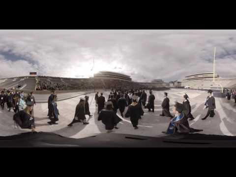 University of Notre Dame Commencement in 360°
