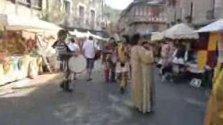 un petit tour au moyen age en la cité médiévale d'estaing !!!!