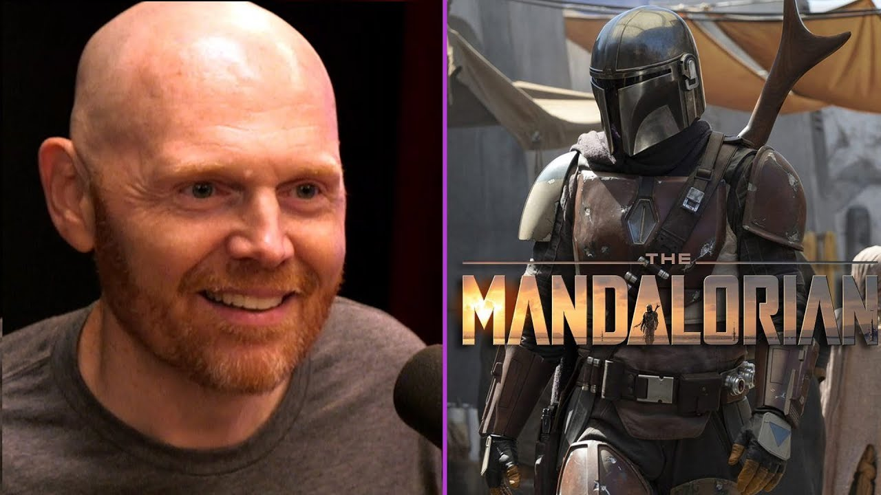 Bill Burr On Filming The Mandalorian The New Star Wars Show Youtube
