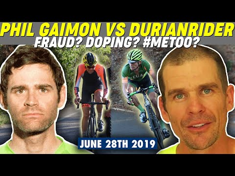 Phil Gaimon accused of using Cheap Chinese Carbon Frame and doping by DurianRider!