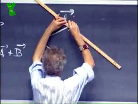 The way MIT physics professor Walter Lewin makes these dashed lines on his chalkboard