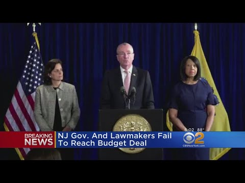New Jersey Lawmakers Fail To Reach Budget Deal