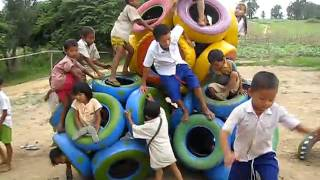 Playground In Mae Sot
