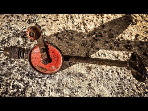 Antique Hand Drill Restoration