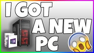 I GOT A SHINOBEE GAMING PC!!! (ENGLISH/GERMAN COMMENTS)