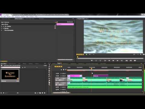 Premiere Pro CS6 Techniques: 35 Titles 3: Title Styles