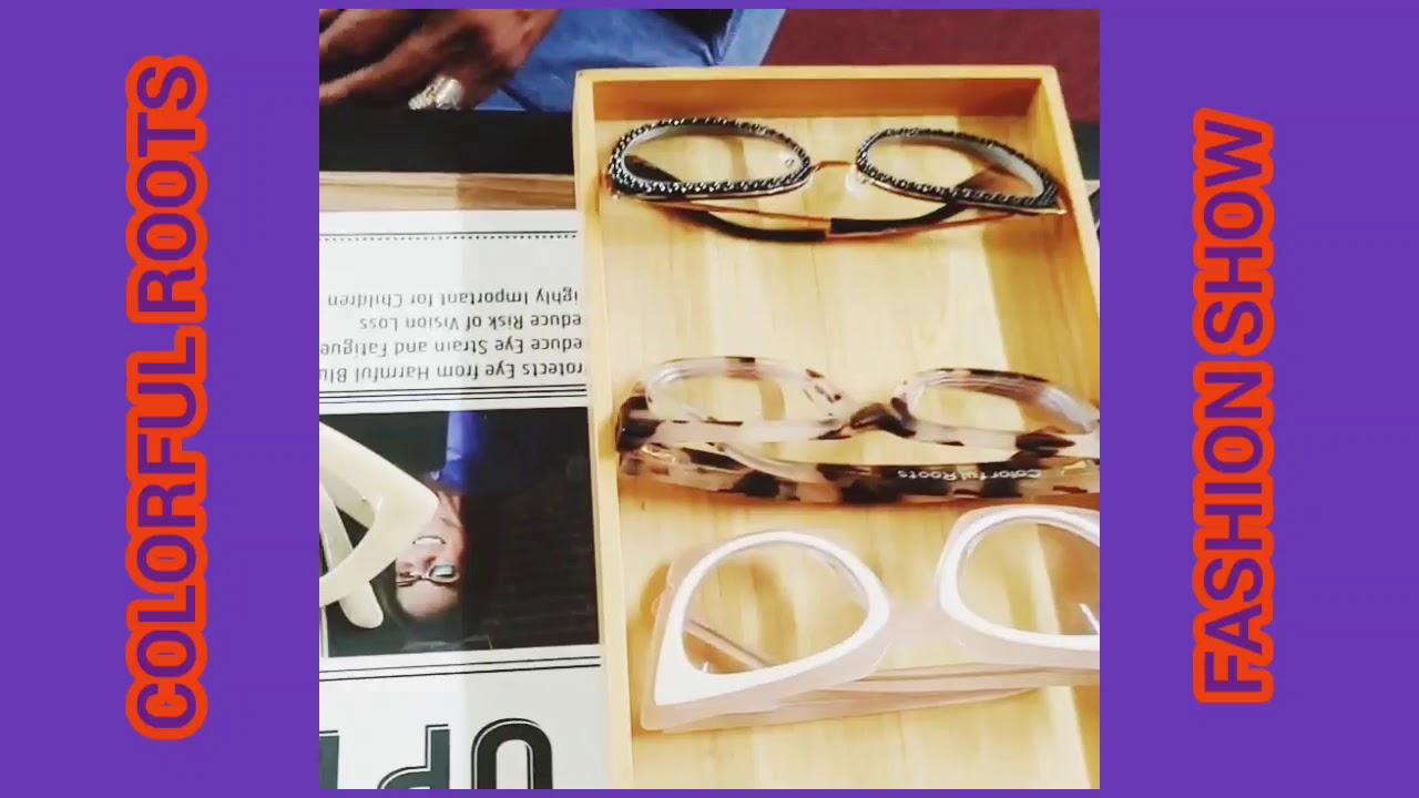 Funky Eyeglass Fashion Show