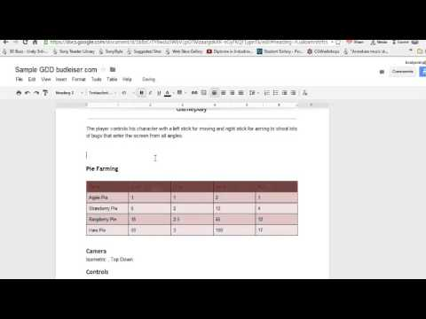 Make A Powerful And Efficient Game Design Document GDD Part - How to make a gdd