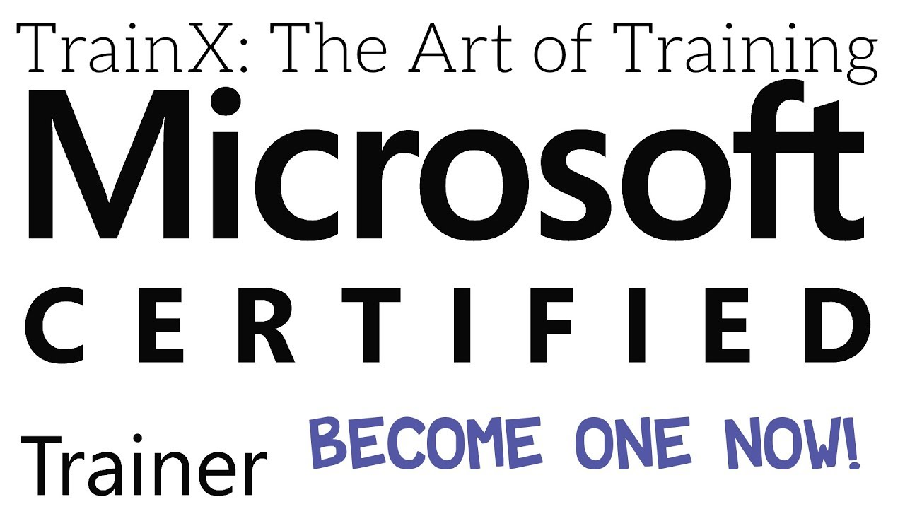 How To Become An Mct Microsoft Certified Trainer Youtube