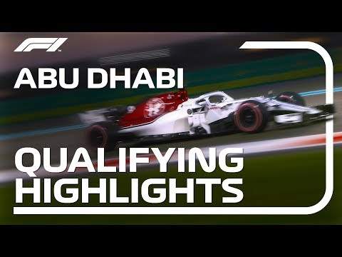 2018 Abu Dhabi Grand Prix: Qualifying Highlights