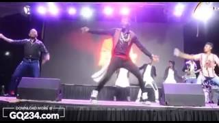 comedy video: Akpororo Showing Off Some Crazy Dance Moves At Akpororo vS Akpororo 2016