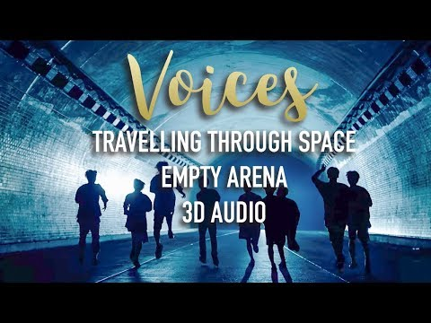 Stray Kids - Voices (3D + Empty Arena + Traveling Through Space)