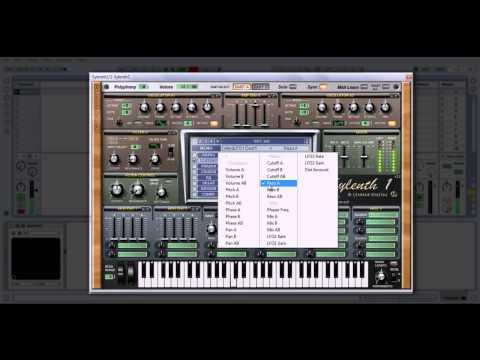 Dubstep Yoi Bass Tutorial Using Sylenth1 (Ableton Live 8)