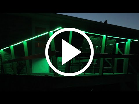 How to Install Light Strips Indoors and Outdoors.