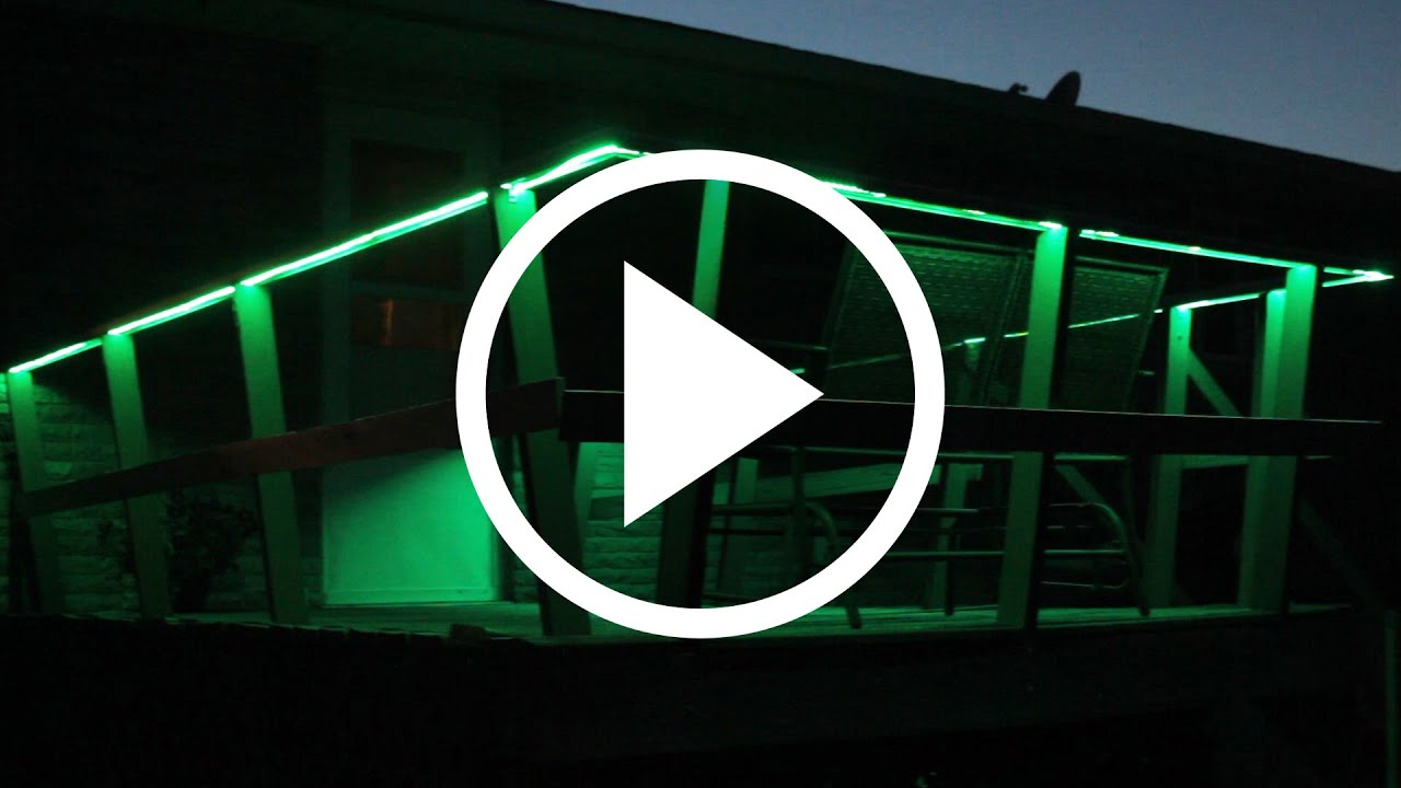 How to install light strips indoors and outdoors youtube how to install light strips indoors and outdoors workwithnaturefo