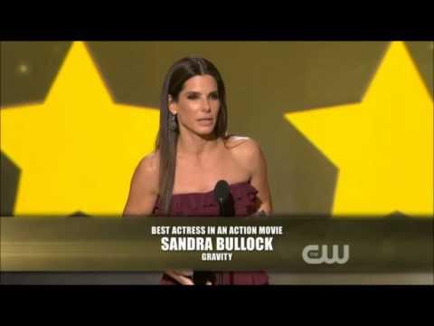 Sandra Bullock won Best Actress in An Action Movie