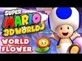 Download Super Mario 3D World - World Flower 100% (Nintendo Wii U Gameplay Walkthrough)