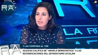 Rocío de Meer manda un mensaje contundente a Pablo Iglesias: 'El antifascismo es terrorismo'