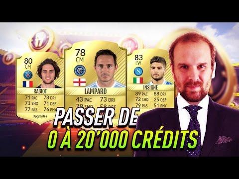 FIFA 17 - DÉFI AR - PASSER DE 0 A 20K CREDITS EN MOINS DE 3 HEURES !