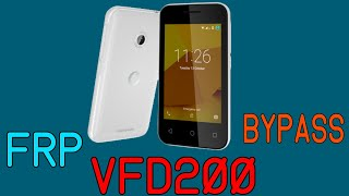 Como remover conta Google no  VFD 200 Smart Kicka 2